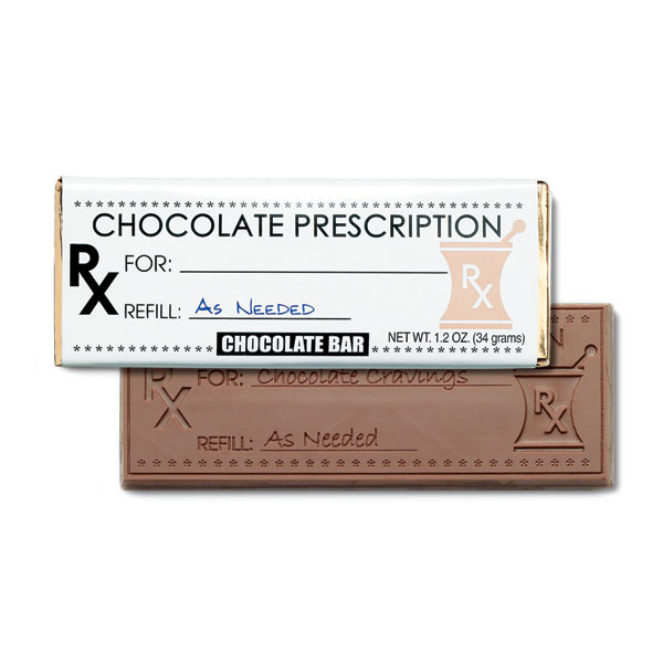 Chocolate Prescription Chocolate Bar