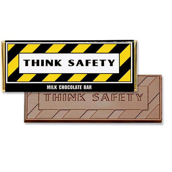 Think Safety Chocolate Bar