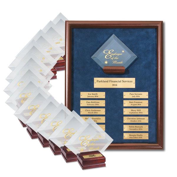 Diamond Employee of the Month Program Premium