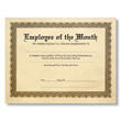 Personalized Aged Parchment Award Certificates