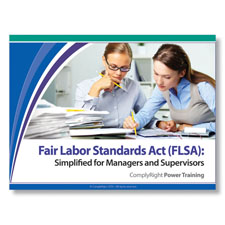 Picture of Fair Labor Standards Act (FLSA): Training Program for Managers