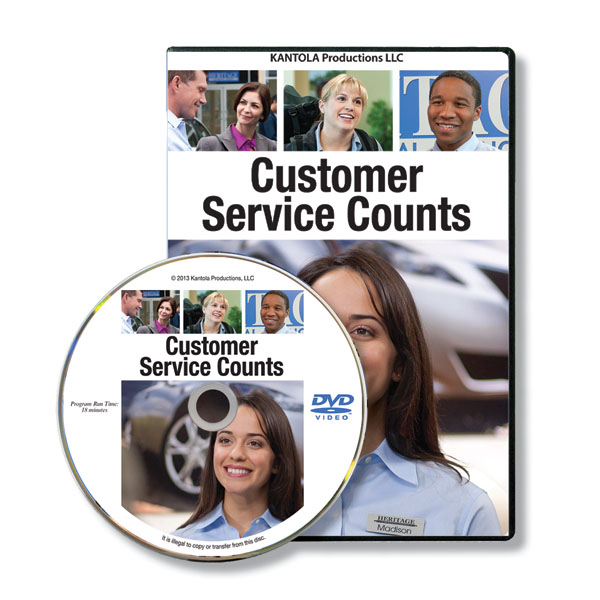 Customer Service Counts