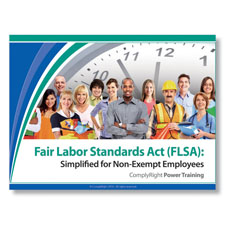 Picture of Fair Labor Standards Act (FLSA):  Simplified Training Program for Non-Exempt Employees