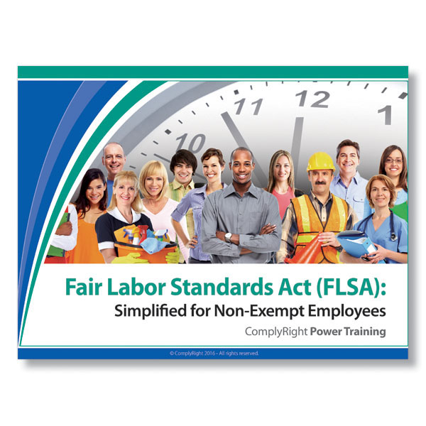 Fair Labor Standards Act -implified Training Program for Non-Exempt Employees