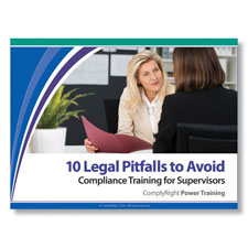 Picture of Compliance Training for Supervisors: 10 Legal Pitfalls to Avoid