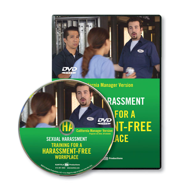 Training for a Harassment-Free Workplace - Manager  English