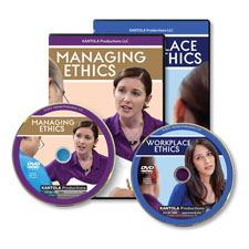Picture of Workplace Ethics and Managing Ethics (English DVDs)