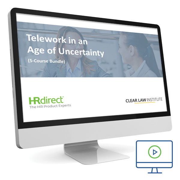 Picture of Telework in an Age of Uncertainty Course
