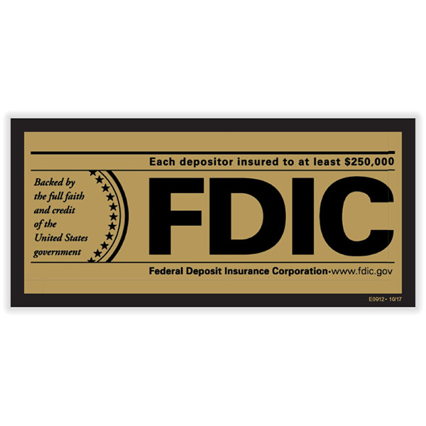 Picture of FDIC Insured Poster