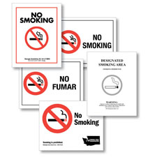 "Picture of ""No Smoking"" State-Specific Posters"