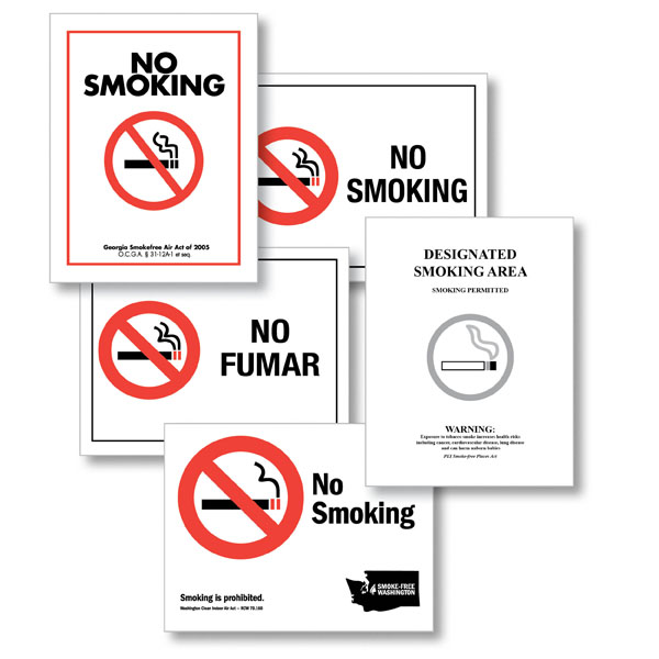No Smoking Posters