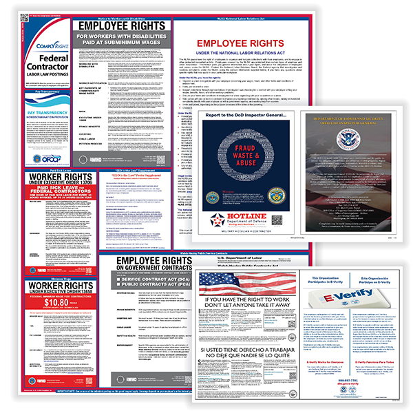 Picture of Federal Contractor Poster Bundle