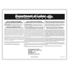 Picture of Illinois Employee Classification Act Poster