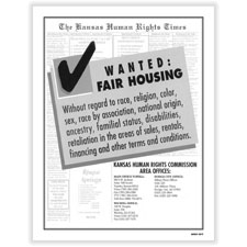Picture of Kansas Fair Housing Poster