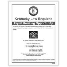 Picture of Kentucky Fair Housing Poster