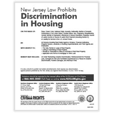 Picture of New Jersey Fair Housing Poster