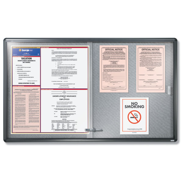 Deluxe Sliding Door Poster Case