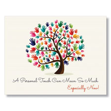 Tree of Warmth Greeting Card