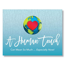 Global Human Touch Greeting Card