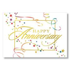 WPG Anniversary Streamers Employee Anniversary Card