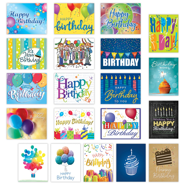 Birthday Sampler Card Assortment