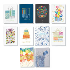 Picture of Personalized Birthday Party Card Assortment