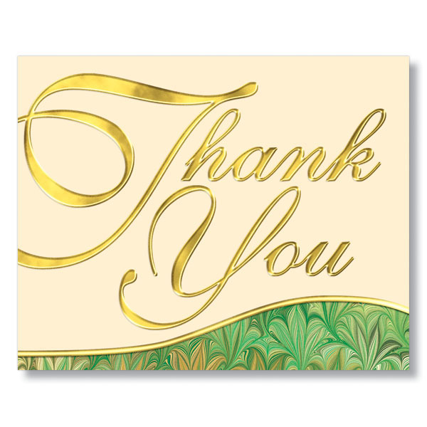 Elegant Reciation Thank You Card