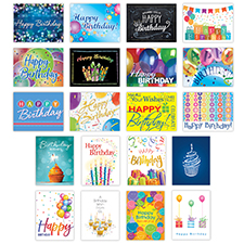 Birthday Favorites Card Assortment