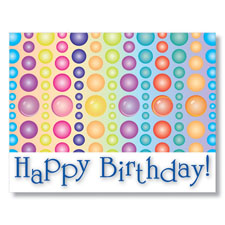 Birthday Beads Employee Birthday Card