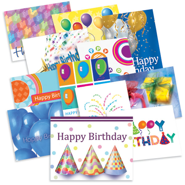 Birthday Treasure Card Assortment - Web Special