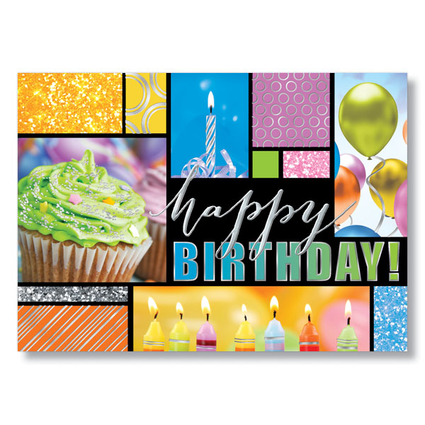 Birthday Photo Collage Card