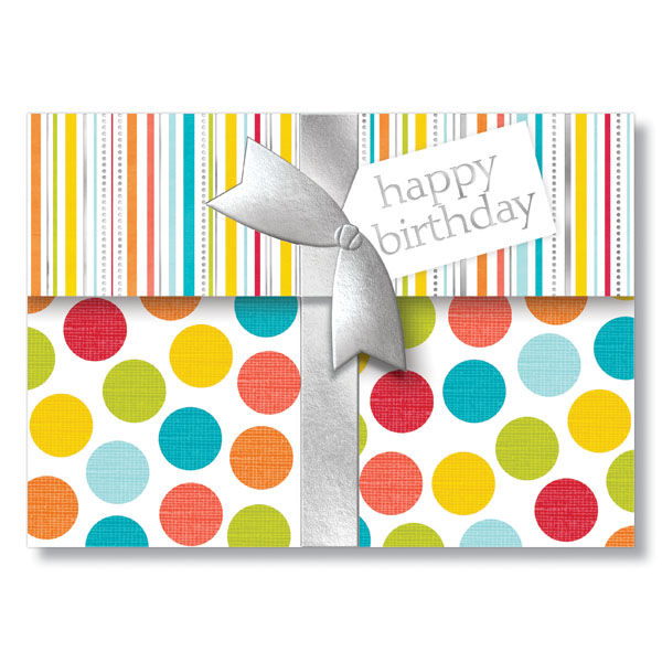 Picture of Tri-Fold Birthday Gift Card