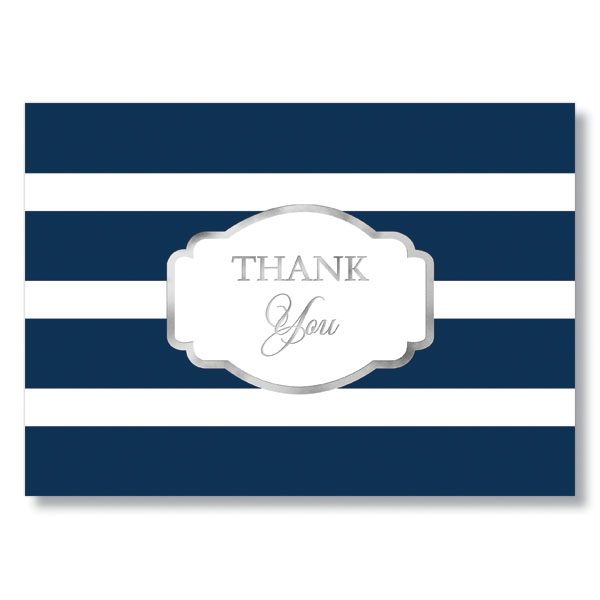 Thank You Stripes Card