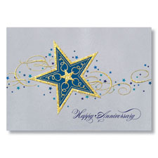 WPG Big Star Anniversary Card