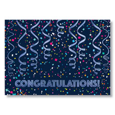 Picture of Festive Congrats Card