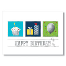 Block Birthday Elements Card