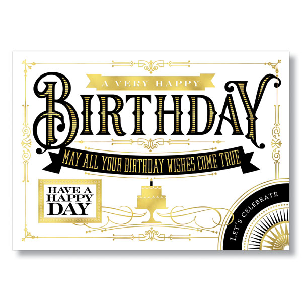 Picture of Bold Birthday Card