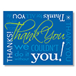 Picture of Contemporary Thank You Postcard