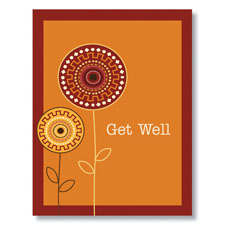 Warm Get Well Card