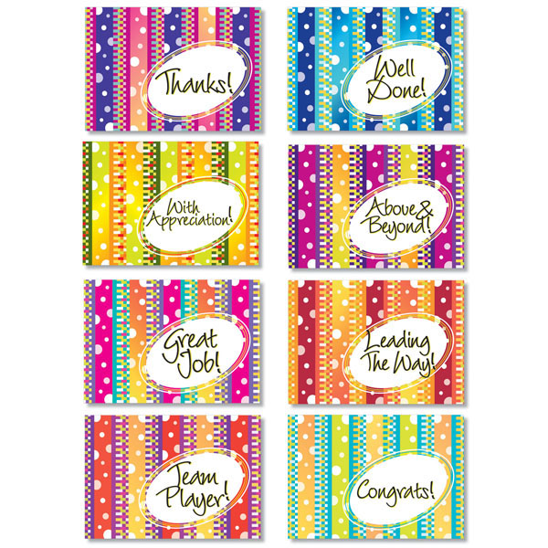 Vivid Mini Note Card