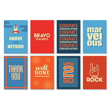 Iconic Mini Recognition Note Card