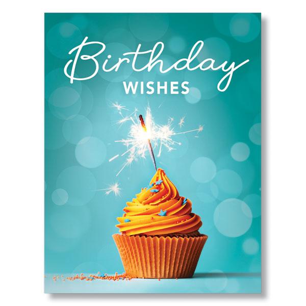Orange Cupcake Card