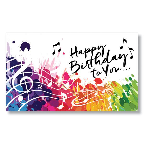 FE Birthday Notes Card