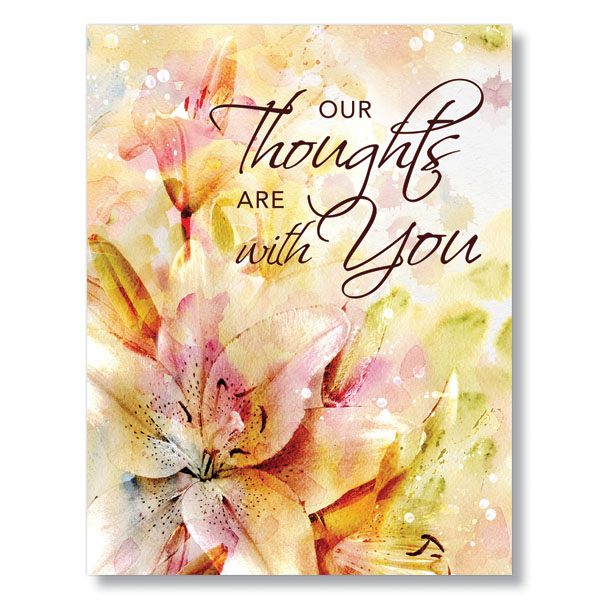 Picture of Thoughts of Sympathy Card