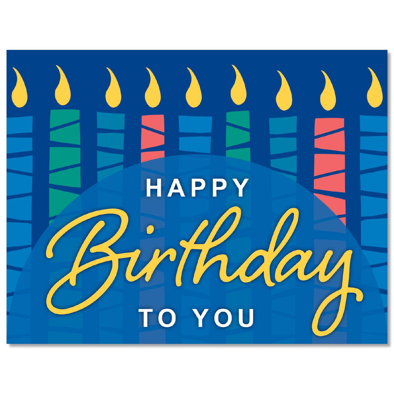 Retro Birthday Wishes Card