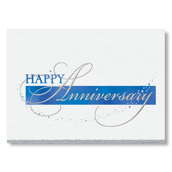 Sparkling Anniversary Card