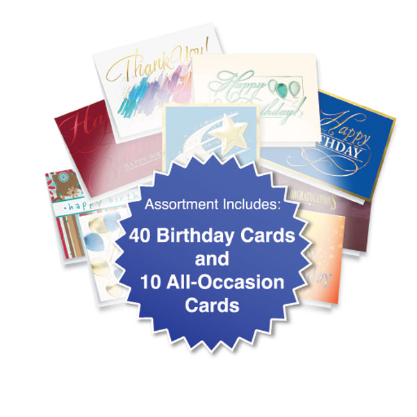 Clearance Birthday Card Assortment