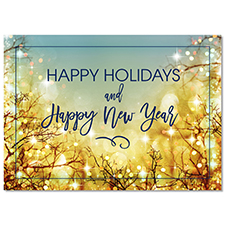 Holiday Lights Holiday Card