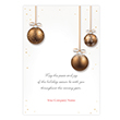 Holiday Shimmer Holiday Card