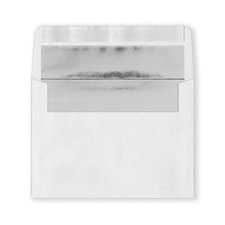 Fastick White Silver-Lined Envelopes